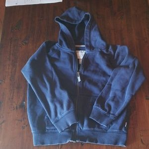 Carter's zip up hooded sweatshirt